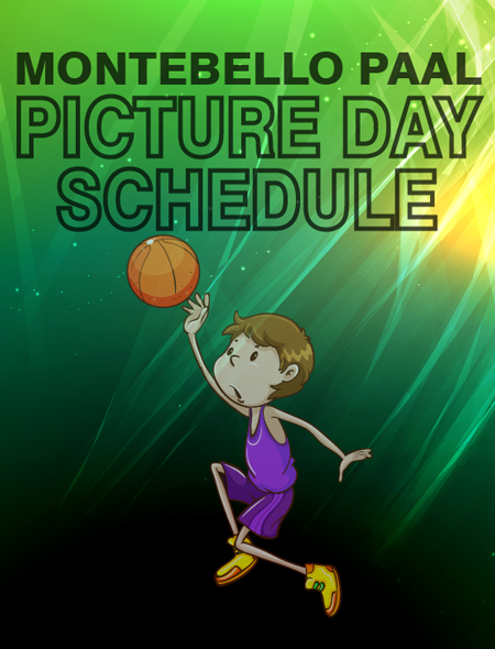 Montebello PAAL Picture Schedule
